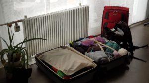 Koffern gepackt