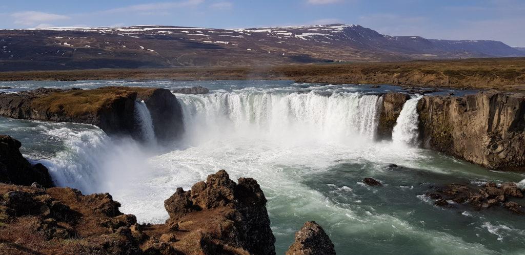 Goðafoss 12m Fallhöhe