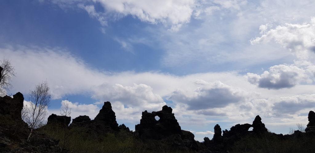 Dimmuborgir Lochformation