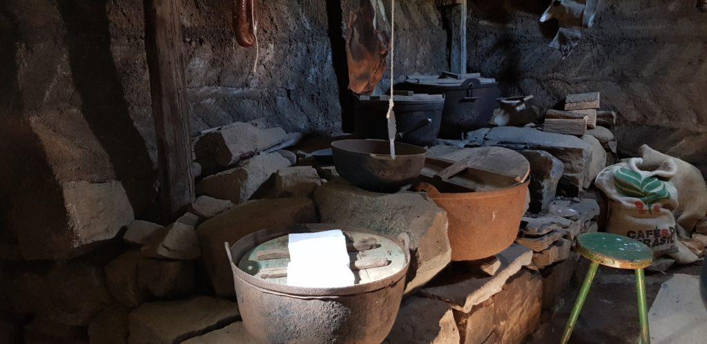 Laufás Küche