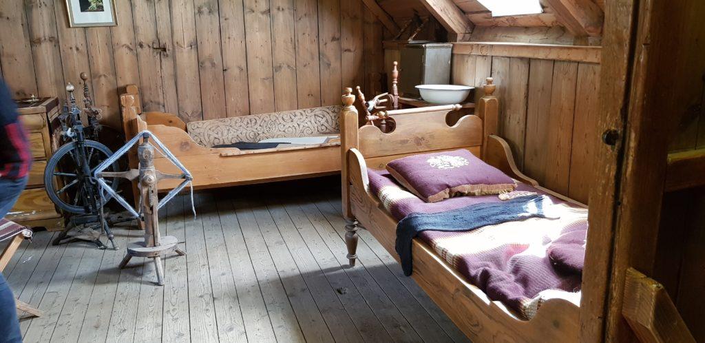 Laufás Schlafzimmer
