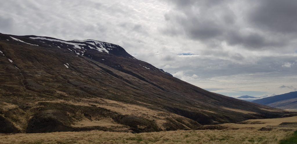 Ringstrasse zwischen Akureyri und Varamahlíð